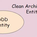 ドメイン駆動設計のエンティティとクリーンアーキテクチャのエンティティ
